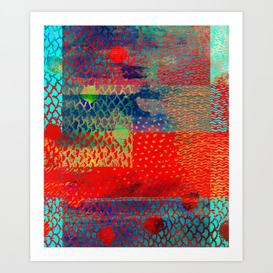 Mix it up collection 5 Art Print
