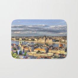Budapest City View Bath Mat