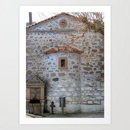 Remembering Byzantium Art Print