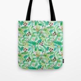 yuletide greenings Tote Bag