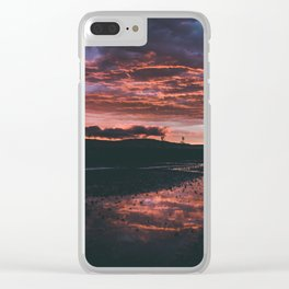 Sunset After Rain Clear iPhone Case
