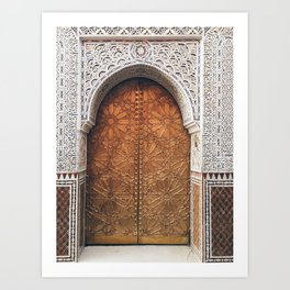 Golden Door Art Print