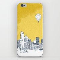 dallas iPhone & iPod Skins featuring Dallas by Bas van Genugten