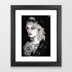 Sky ferreira no………………………..11 Framed Art Print