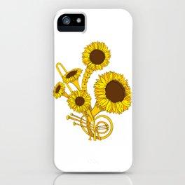 Sunflower Orchestra iPhone Case