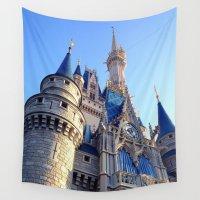 castle Wall Tapestries featuring Castle by Jillian Stanton