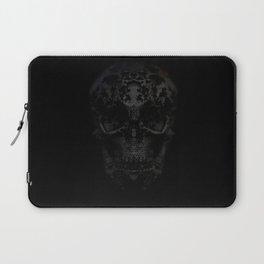 Skulls Black Laptop Sleeve