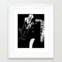 orchid Framed Art Prints featuring Orchid by McLane O'Daniell