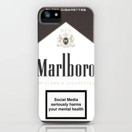 Marbloro Vintage iPhone Case