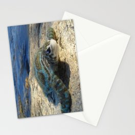 Green Sea Turtle Wool Sculpture Stationery Cards