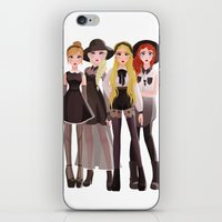 coven iPhone & iPod Skins featuring Coven by archibaldart