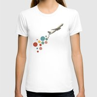 plane T-shirts featuring Leaving on a Jet Plane by Cassia Beck
