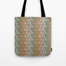 Honeycomb IKAT - Cocoa Tote Bag