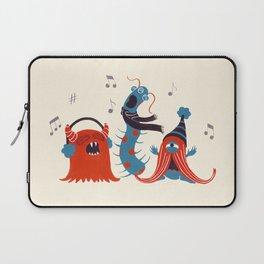 Three Monsters Singing Laptop Sleeve