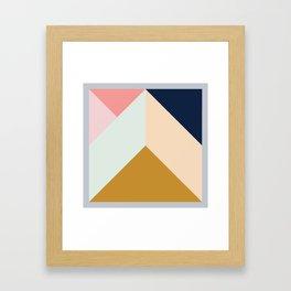 Ultra Geometric III Framed Art Print