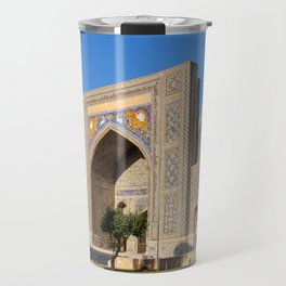 Registan square - Samarkand Travel Mug