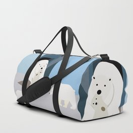 Go out into the yard, now! Duffle Bag
