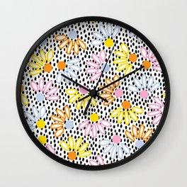 Pretty Petal Wall Clock