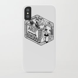 Arup WeWork West Project Patch iPhone Case