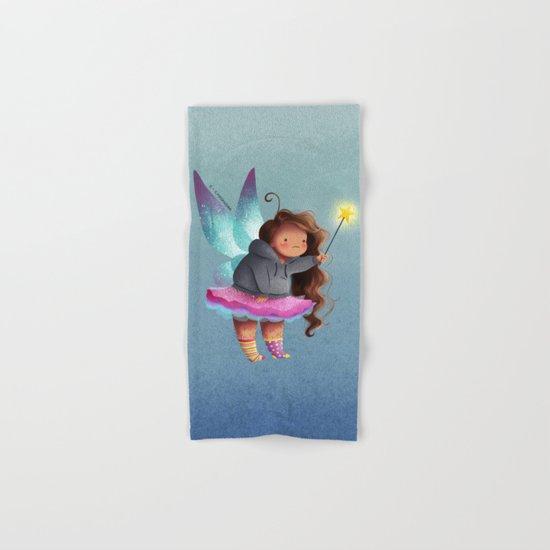 the lazy fairy godmother Hand & Bath Towel