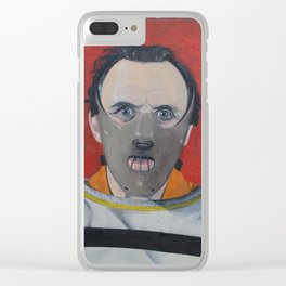 Hannibal the cannibal Clear iPhone Case