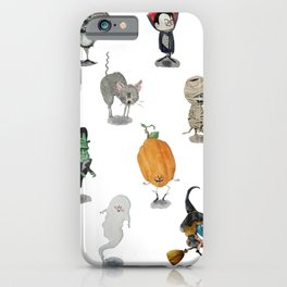 The Spooky Bunch iPhone Case