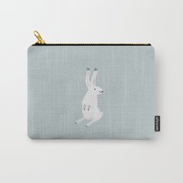 Happy Arctic Hare Carry-All Pouch