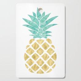 Gold Pineapple Cutting Board