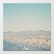 Santa Monica, California  Canvas Print