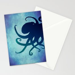 Indigo Mastermind ~ Octopus ~ Marine Life ~ (Copyright 2014) Stationery Cards