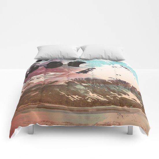 Mountainous Range Comforters