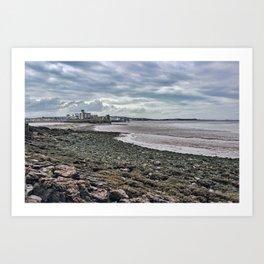 Weston-super-Mare, Somerset Art Print
