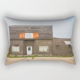 General Store, Regan, North Dakota 3 Rectangular Pillow