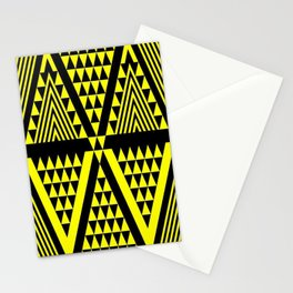 Black & Yellow Stationery Cards