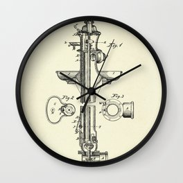 Combined Fire and Drinking-Hydrant-1876 Wall Clock