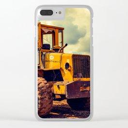 Bulldozer Clear iPhone Case