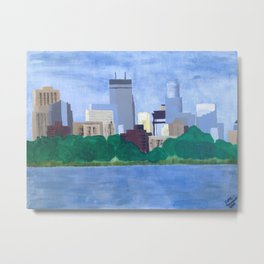 Calhoun Minneapolis Metal Print