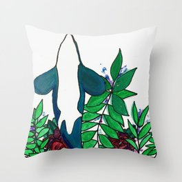 Oh Whale Throw Pillow