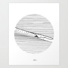 Lineup Art Print