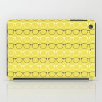 glasses iPad Cases featuring Glasses by C Designz