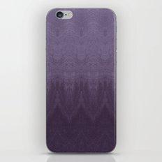 Purple Ombre iPhone & iPod Skin