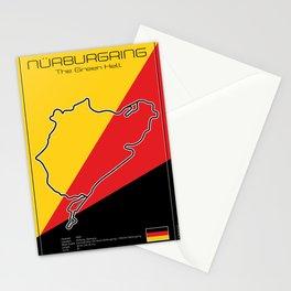 Racetrack Nürburgring Nordschleife Stationery Cards