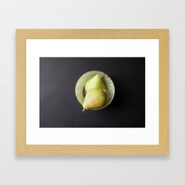 Pears Still life Framed Art Print