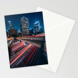 Midnight Motions Stationery Cards