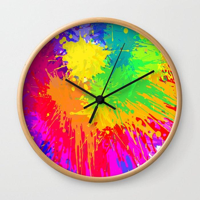Trust Me, I'm An Artist ! Wall Clock