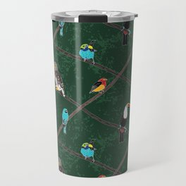 Crossed Branches Travel Mug