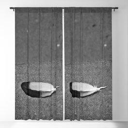 Fallen Feather Blackout Curtain
