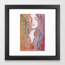 The Maiden Framed Art Print