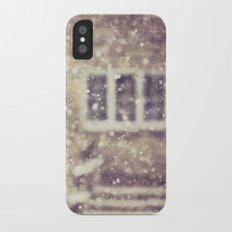 the white stuff iPhone X Slim Case