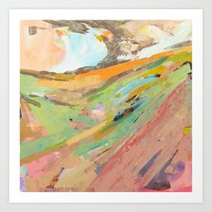 Four Corners of the World  Art Print